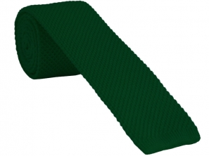 Green Knitted Tie