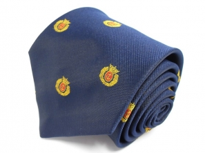 Merchant Navy Crown and Wreath Tie