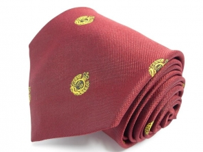 Royal Engineers Motif Regimental Tie