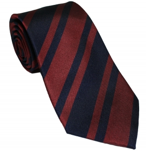 Royal Engineers Silk Stripe Tie