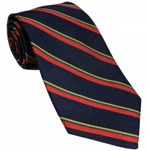 Royal Marines Silk Tie