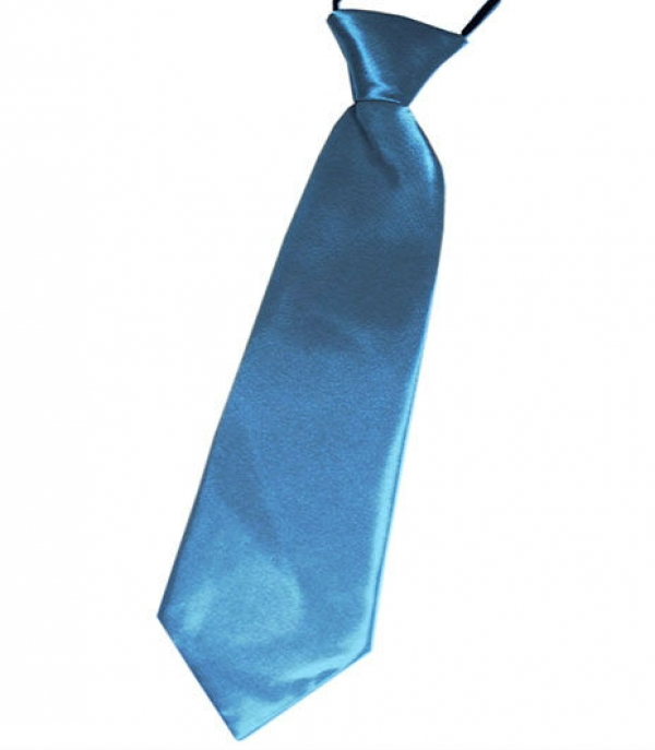 Boys Ties - Finding the right size for boys ties can seem like a struggle, but it is quite easy to do. Whether choosing a clip-on tie or a need-to-be-tied version, the same measurement can be used. Simply measure the distance from the top of the collar to about the center of the boy's belt line and that is the size of boy's tie that will fit perfectly.