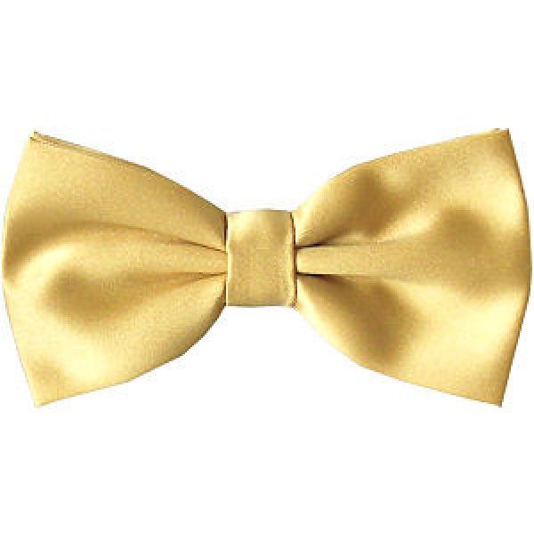 gold bow tie with free and fast uk delivery
