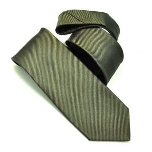 Brown Silk Designer Tie