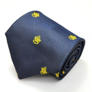 Crown And Anchor Regimental Tie