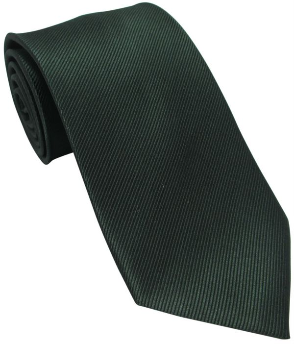 Bottle Green Silk Tie