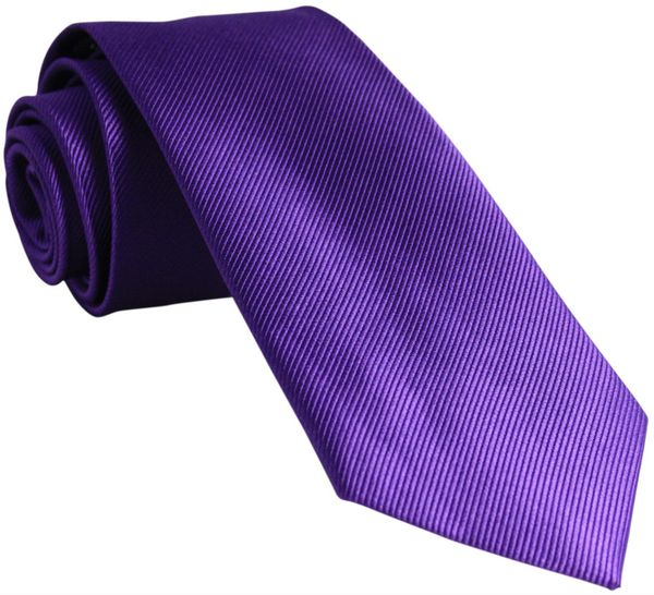 Cadbury Purple Silk Tie