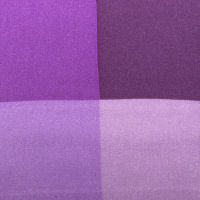 Purple and Lilac 4 Way Silk Pocket Square
