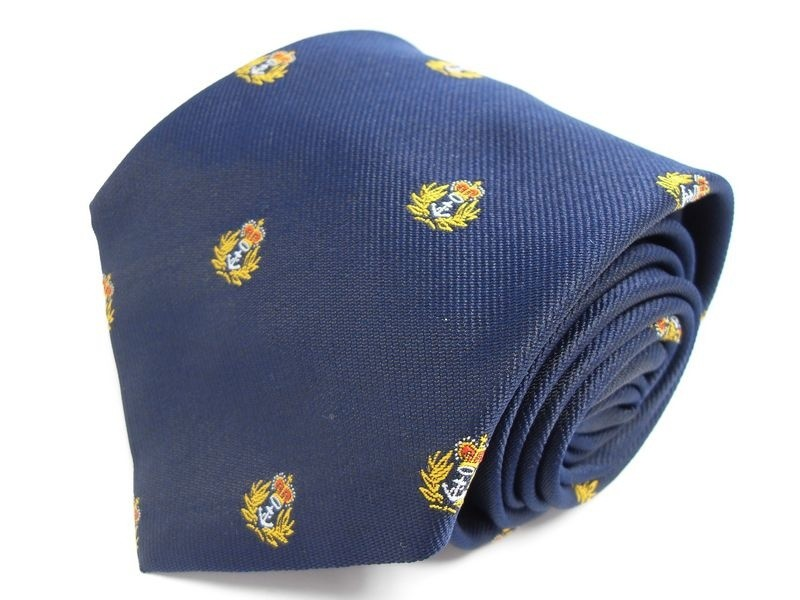 Royal Navy Cap Badge Tie