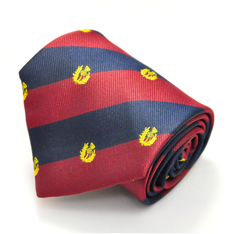 Scots Guards Regiment Tie