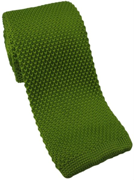 Lime Green Knitted Tie