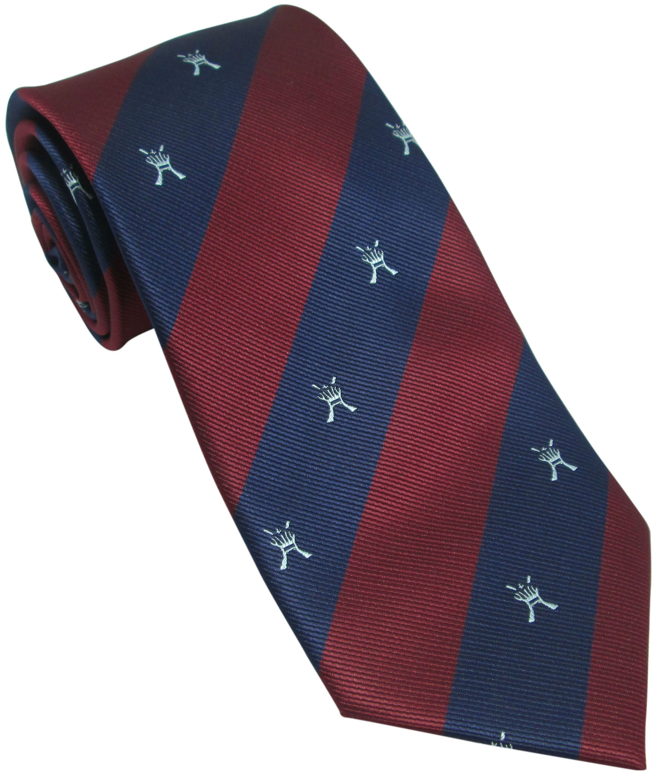 RAF Regiment Motif Silk Tie