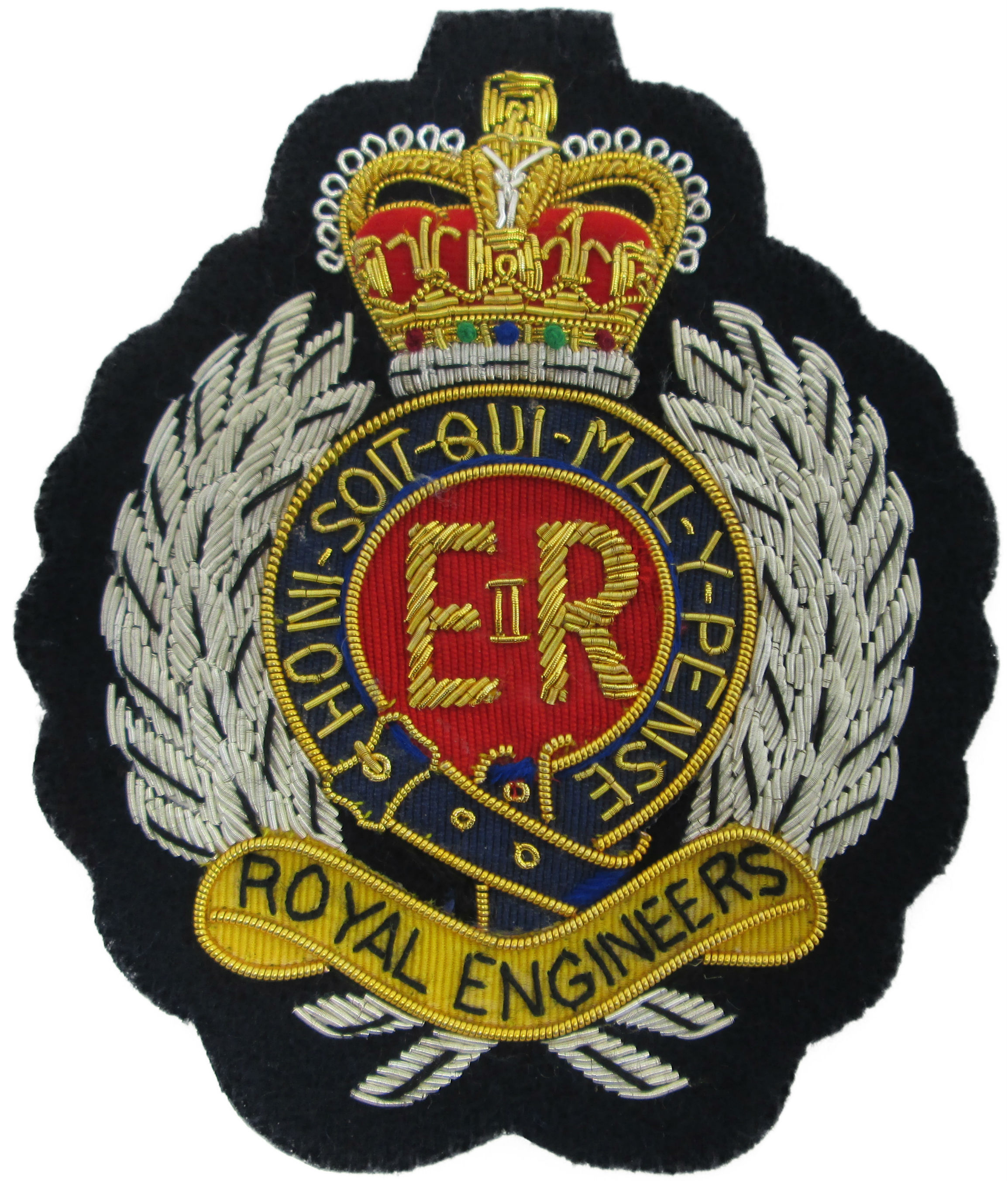 Royal Engineers Blazer Badge