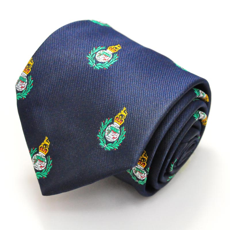 Royal Marines Motif Tie