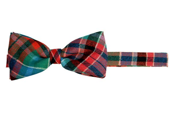 Gordon Red Tartan Wool Bow Tie
