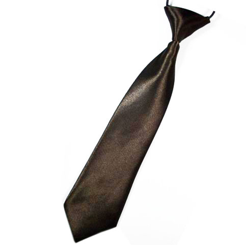 Brown Boys Tie